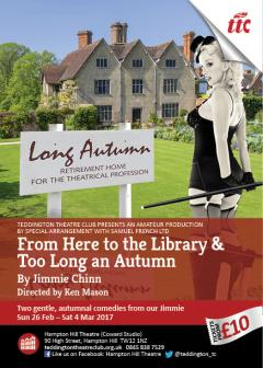 A Double Chinn - From Here to the Library & Too Long an Autumn