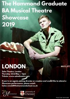 BA Musical Theatre Graduate Showcase 2019 at Soho Theatre