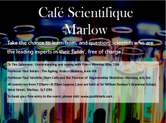 Cafe Scientifique- Stem Cells & the Promise of Regenerative Medicine
