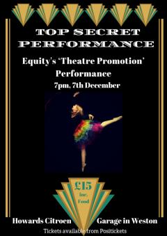 Equity's 'Theatre Promotion' Performance