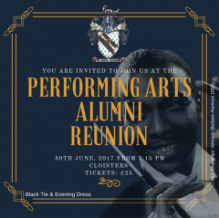 Performing Arts Alumni Reunion