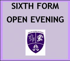 Open Evening for Prospective Sixth Form Students (External Applicants): September 2019 Entry