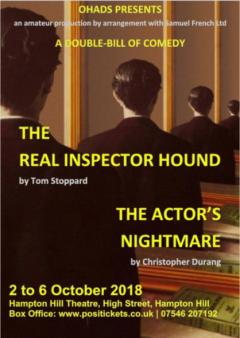 The Real Inspector Hound and The Actor's Nightmare